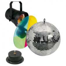 Showtec Mirrorball Set 30cm