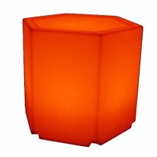 LED Hexagon Plinth Small
