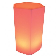 LED Hexagon Plinth Medium