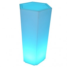 LED Hexagon Plinth Large