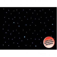 LEDJ DMX 6m x 3m White LED Starcloth