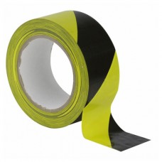 Showtec Hazard Tape Black Yellow