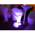 LED Bar Stool with Footrest