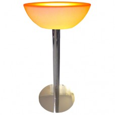 LED Half Bowl Table