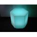 LED Hexagon Plinth Small