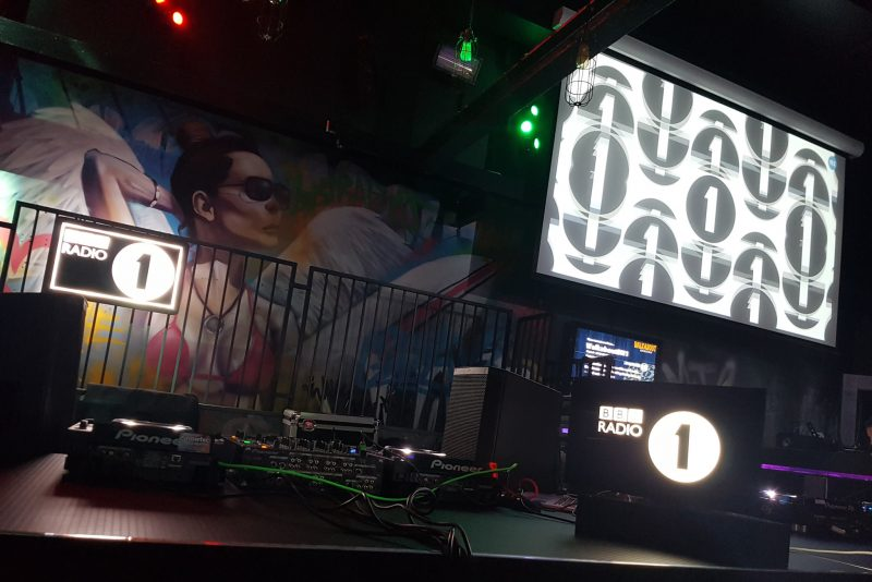 BBC Radio 1 Rave Lounge – Outside Event